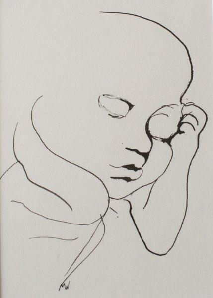 Foetus 20 weken 7 - 18 X 21