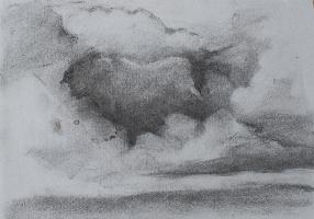 Donkere wolken - 21 X 30